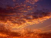 Ein malerischer sonnenuntergang — ストック写真