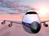 Airliner — Stock Photo