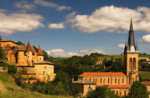 Beaujolais scenery — Stock Photo