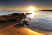 Mediterranean sunrise — Stock Photo