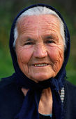 Old Greek lady — Stock Photo