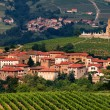 Stock Photo: Village in Beaujolais region, France