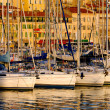 Vieux port ( old port) in Cannes, France — Stock Photo
