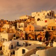 Waiting for the sunset in Oia - Stock Photo