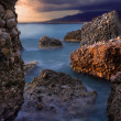 Rocky seascape — Stock Photo