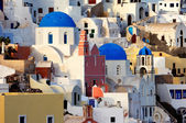 The village of Oia by day — Stock Photo