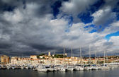 The city of Cannes, France — Stock Photo