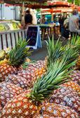 Mercado de alimentos al aire libre — Foto de Stock