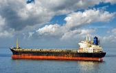 Navio de carga vazia — Fotografia Stock
