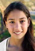 Beautiful young gypsy girl — Stock Photo
