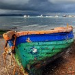 Old colorful fishing boat — Stock Photo