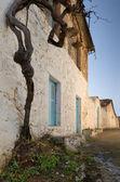 Greek village — Stock Photo