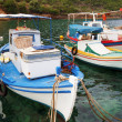 Fishing boats in Greece — Stockfoto