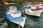 Fishing boats in Greece — Stock Photo