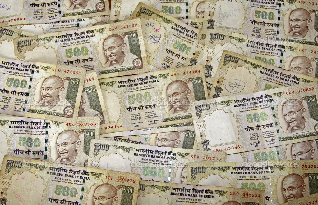 Indian Currency — Stock Photo © cabman237 #3423130