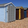 Beachhuts — Stock Photo