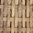Plaited Wickerwork Close up — Stock Photo