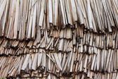 Palm Leaf Thatching — Stock Photo