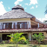 Zanzibar Resort Accomodation — Stock Photo