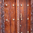 Stock Photo: Zanzibar Wooden Door