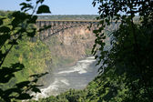 Zambezi River Gorge — Stock Photo