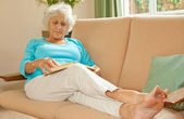Feet Up And Relaxing — Stock Photo