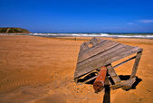 Sandy Red Beach (HDR) — Stock Photo