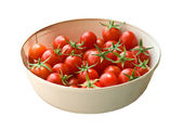 Freshly Picked Cherry Tomatoes — Stock Photo