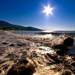 Sun Star Over The Sea — Stock Photo