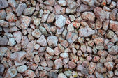 Fragment of the road surface from gravel — Stock Photo