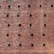 Brick Wall of the ancient fortress — Stock Photo
