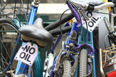 Bicycle - pure transport (NO OIL) — Stock Photo