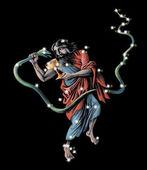 Sign on zodiac constellation The Ophiuchus (Serpentarius) — Stock Photo