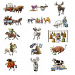 The various animals_2 — Stock Photo