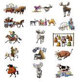 The various animals_2 — Stock Photo