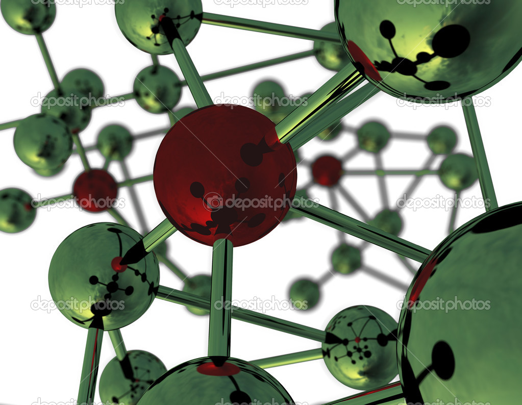 abstract molecular structure  u2014 stock photo  u00a9 klss777  3767920