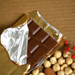Stock Photo: Chocolate background