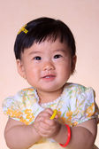 Cute Baby Asian Girl — Stock Photo