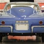 Vintage Blue Corvette — Stock Photo #3453981