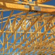 Wood Trusses — Stock Photo