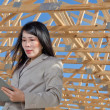 Stock Photo: Asian Woman Contractor