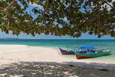 Lengkuas Island Boats — Stock Photo