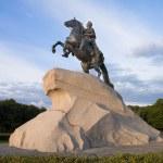 Monumento de Pedro el primero - San Petersburgo — Foto de Stock