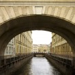 Stock Photo: Russia, Saint-Petersburg, Bridges of Winter Channel