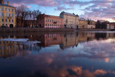 Russia, St. Petersburg, river Fontanka — Stock Photo