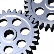 Stock Photo: Steel cogwheels