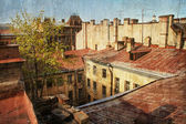 Russia, St.Petersberg, old roofs — Stock Photo