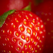 Stock Photo: Strawberry, closeup