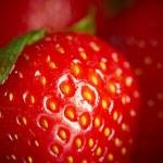 Strawberry, closeup — Stock Photo