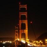 Golden Gate Bridge bei Nacht — Stock Photo #3487232